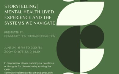 Storytelling | Mental health lived experience and the systems we navigate